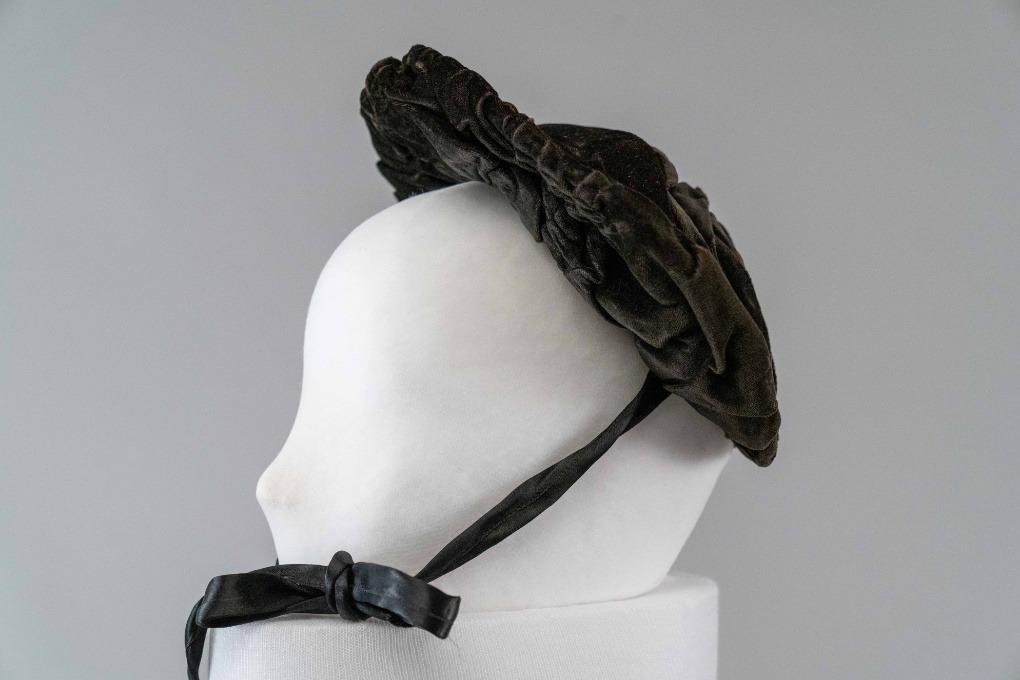 Photo of Black Velvet Bonnet